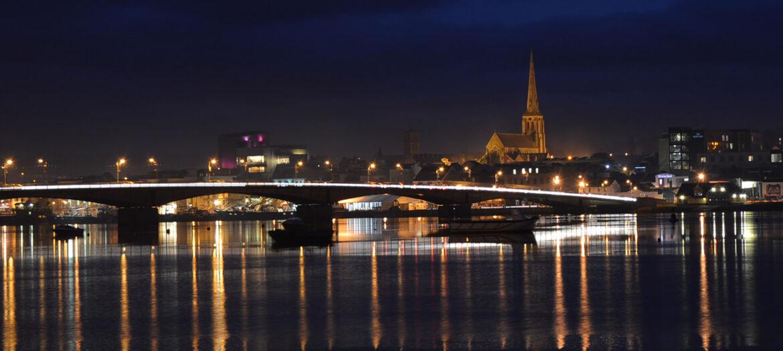 Wexford Town by night photo by Ewa Neumann
