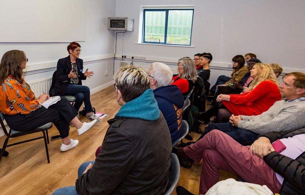 talk with Ailbhe Smyth